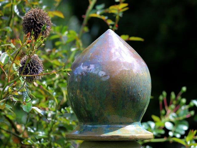 Keramik für den Garten - Garten Säule