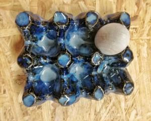 6er Eierschale blau von Keramik-Atelier Brigitte Lang in Rauenberg