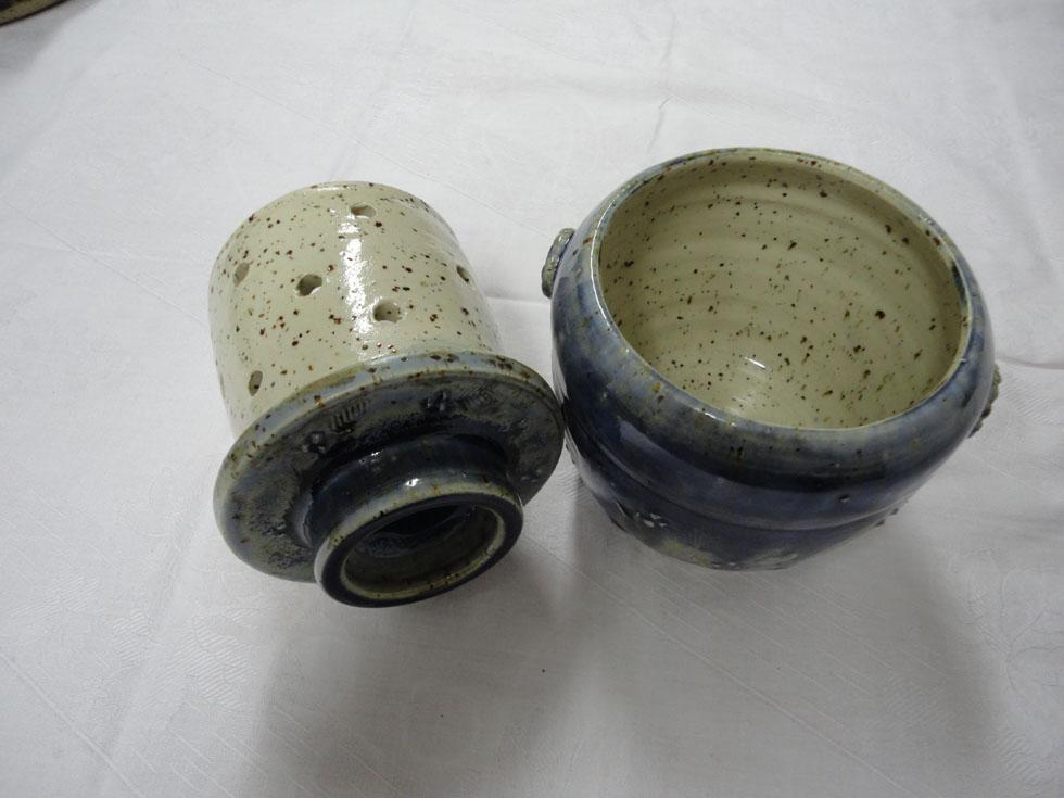 beurrier en céramique