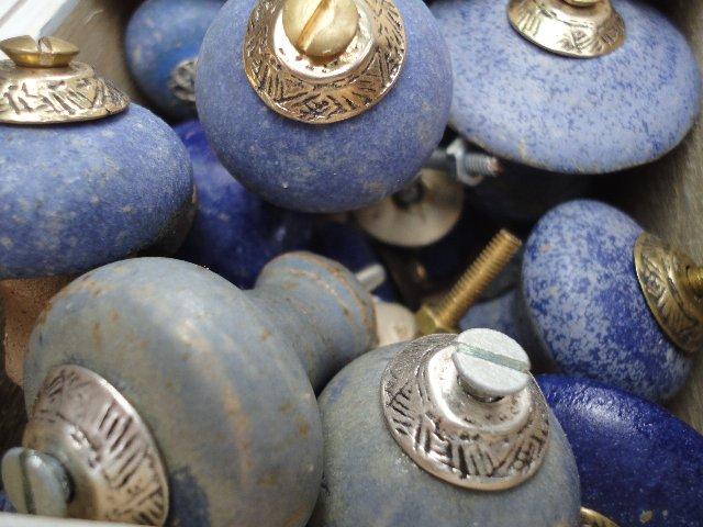 Türknöpfe aus Keramik
