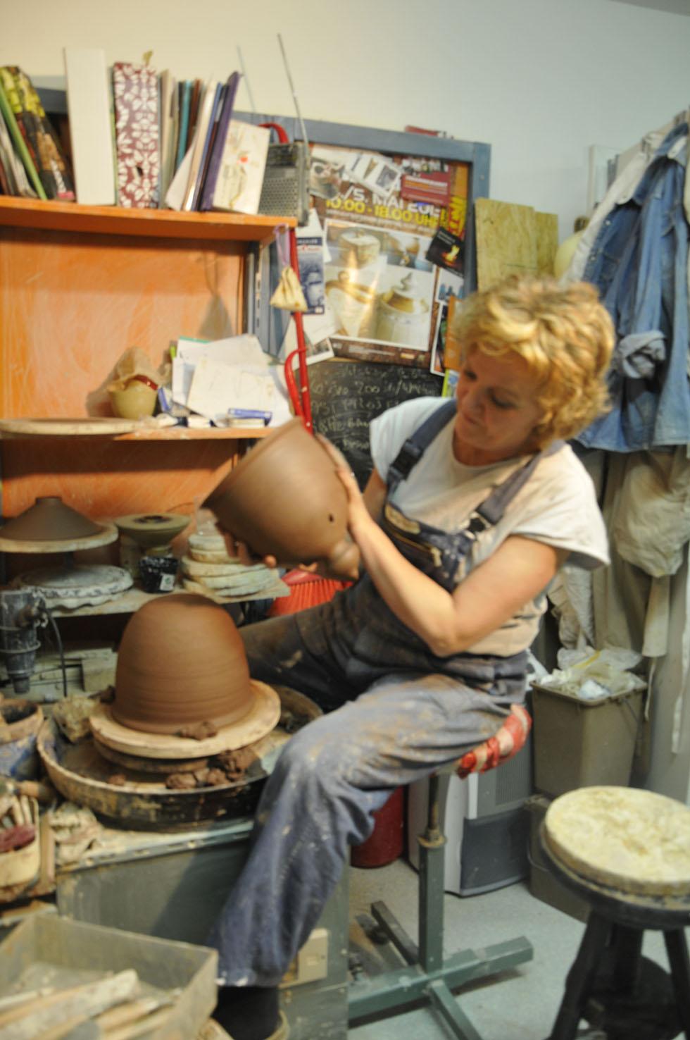atelier de céramique - Brigitte Lang