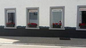 Mosaique sur la fassade Blitz Button à Dielheim
