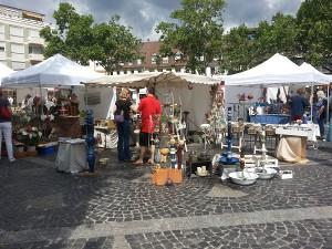 Frankenthal 2016 Stand Brigitte Lang Keramikatelier
