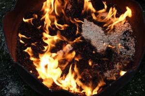 Keramik im Feuer