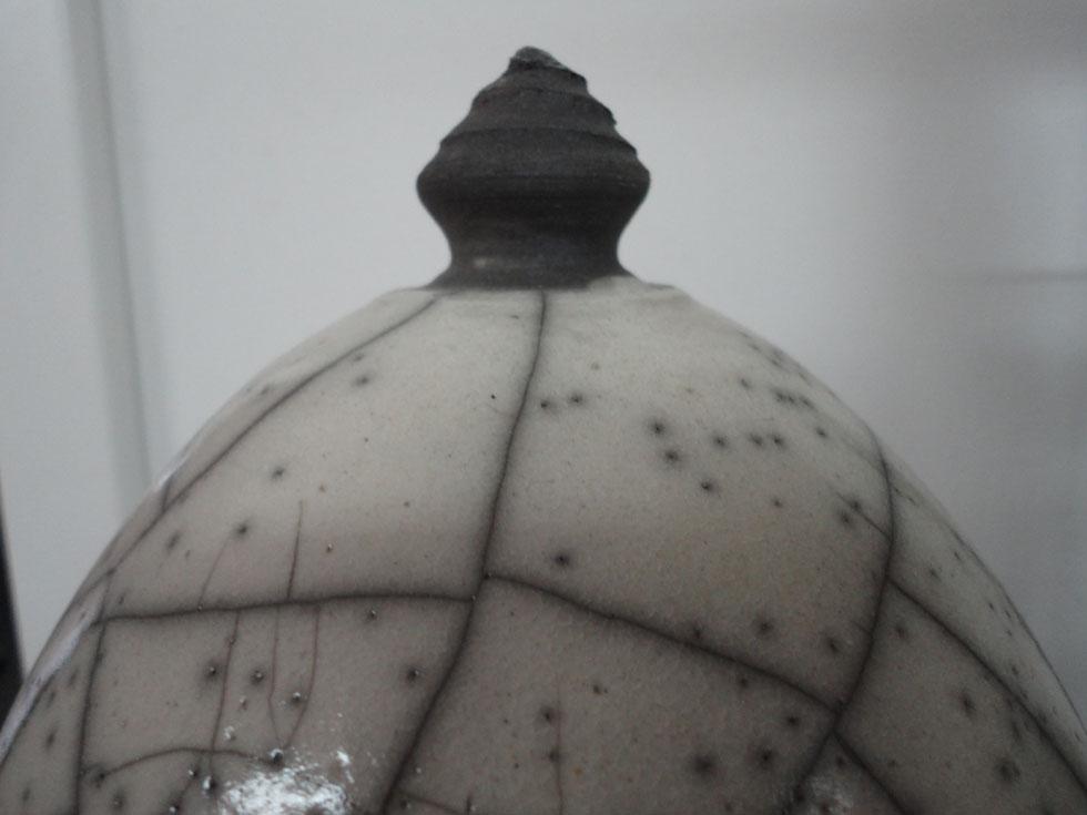Keramik Raku Kuppel Spitze