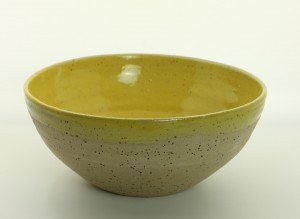 Bowl - gelb von Keramik-Atelier Brigitte Lang in Rauenberg