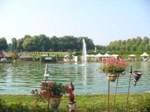 Gartenmarkt im Schlosspark in Ludwigsburg