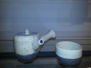 Service à thé raku
