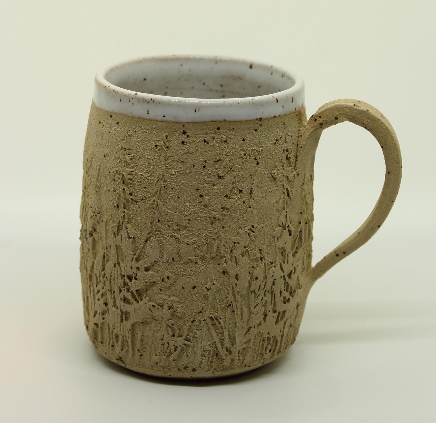 Wiesen-Tasse weiß