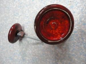 roten Knäufe