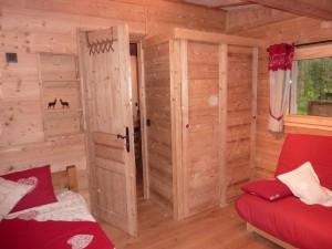 Chalet Les Lupins Chamonix Mont-Blanc chambre