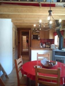 Chalet Les Lupins Chamonix - Wohnraum
