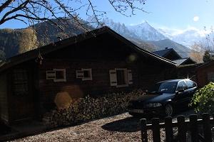 Chalet Les Lupins Chamonix - Sicht auf den Mont-Blanc