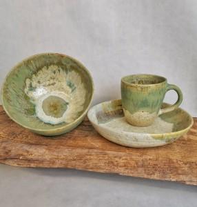 3er Moorland von Keramik-Atelier Brigitte Lang in Rauenberg