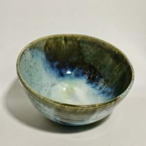 Bowl- grün-blau von Keramik-Atelier Brigitte Lang in Rauenberg