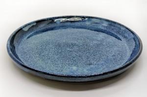 Eßteller blau von Keramik-Atelier Brigitte Lang in Rauenberg