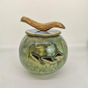 Knoblauchtopf von Keramik-Atelier Brigitte Lang in Rauenberg