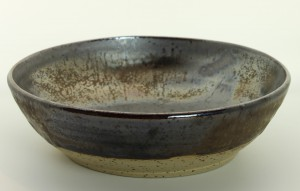 Salatschüssel - bronze von Keramik-Atelier Brigitte Lang in Rauenberg