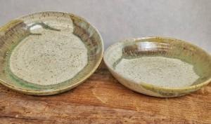 Suppenteller Moorland von Keramik-Atelier Brigitte Lang in Rauenberg