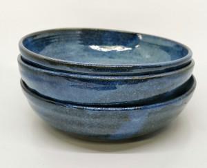 Suppenteller blau von Keramik-Atelier Brigitte Lang in Rauenberg