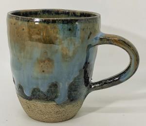 Tasse blau hell dunkel von Keramik-Atelier Brigitte Lang in Rauenberg