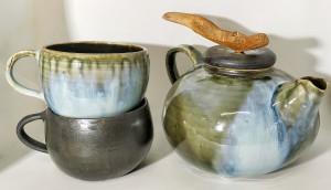 Tee-Service von Keramik-Atelier Brigitte Lang in Rauenberg