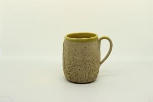 Wiesen-Tasse gelb von Keramik-Atelier Brigitte Lang in Rauenberg